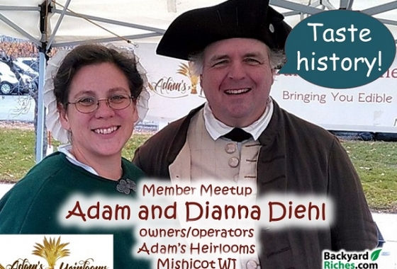 Online Open House with Adam & Dianna Diehl, Adam's Heirlooms